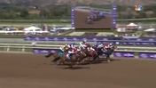 Spun to Run Gets First Jump on Omaha Beach to Win the Breeders' Cup Dirt Mile at Santa Anita Park