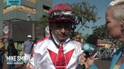 Zoe Cadman Catches Up With Mike Smith To Talk About Roadster's Win in the Santa Anita Derby