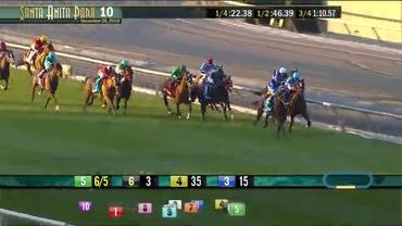 Mo Forza Stays Razor Sharp in the Mathis Brothers Mile at Santa Anita Park on December 28th, 2019