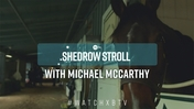 Michael McCarthy Shedrow Stroll: Getting to Know Paved
