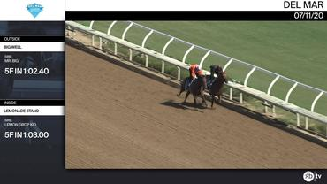 Big Well (Outside) and Lemonade Stand Worked 5 Furlongs in 1:02.40 at Del Mar on July 11th, 2020