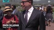 Simon Callaghan Recaps Bellafina's Win in the Santa Anita Oaks