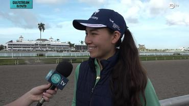 Andie Biancone Discusses the Gameplan for Diamond Oops in the Pegasus World Cup