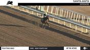 Fighting Mad Worked 4 Furlongs in 47.40 at Santa Anita Park on July 3rd, 2020
