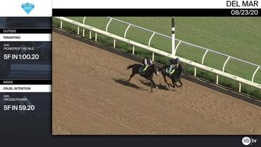 Tarantino (Outside) and Cruel Intention Worked 5 Furlongs at Del Mar on August 23rd, 2020
