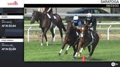 Viadara (Outside) and Stone Tornado Worked 4 Furlongs in 50.84 at Saratoga on August 23rd, 2020