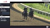 Forever Poe (Outside) and Baseline Drive Worked 4 Furlongs in 49.21 at Saratoga on September 6th, 2020
