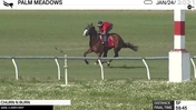 Churn N Burn Worked 5 Furlongs in 59.45 at Palm Meadows on January 24th, 2021