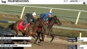 Mint Edition (Outside) and Apart of My Charm Worked 5 Furlongs in 1:01.80 at Palm Meadows on January 19th, 2021