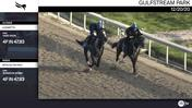 Lazaretto (Outside) and Worlds On High Worked 4 Furlongs in 47.83 at Gulfstream Park on December 20th, 2020