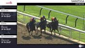 Magical Soul (Outside), Soupster, and an Unnamed Horse out of the Dam Sunnyridge Bride (Inside) Worked 3 Furlongs in 35.67 at Saratoga on July 30th, 2020