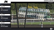 Hockey Dad (Outside), D K's Crown (Middle) and Homehome Worked 5 Furlongs in 1:00.80 at Santa Anita Park on January 8th, 2021