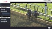 Unbridled Honor(Outside) and an Unnamed Horse Out of the Dam Strawberry Sense Worked 3 Furlongs in 38.33 at Saratoga on September 5th, 2020