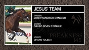 Get to Know The Jim Dandy Stakes Third Place Finisher, Jesus' Team