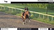 War Stopper Worked 5 Furlongs in 1:01.00 at Palm Beach Downs on November 14th, 2020