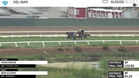 Texas Wedge (Outside) and Miss Alegria Worked at Del Mar on August 5th, 2021