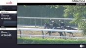 Winters Back (Outside) and Aqaareb Worked 4 Furlongs in 49.93 at Saratoga on July 30th, 2020