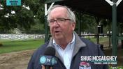 Shug McGaughey Talks Code of Honor in the Grade 1 Travers Stakes at Saratoga