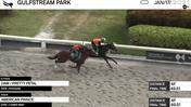An Unnamed Horse out of the Dam Pretty Petal (Outside) and American Prince Worked 4 Furlongs in 49.51 at Gulfstream Park on January 17th, 2021