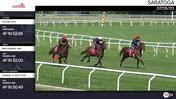 Scooby Roo (Outside), Mrs Frankel (Inside) and Frankel At Ascot (White Cap-Behind) Worked 4 Furlongs at Saratoga on July 26th, 2020