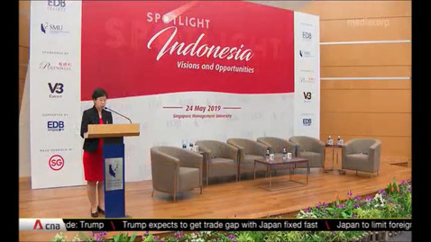Thumbnail for entry SMU Business forum puts a spotlight on Indonesia's vision & opportunities, CNA (Asia Tonight, 8pm), May 27