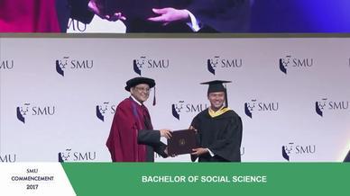 SMU Commencement 2017 - School of Social Sciences