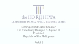 Thumbnail for entry Q&A: Mr Benigno S. Aquino III (11 Mar 2011)