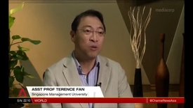 Thumbnail for entry Jewel Changi Airport on track for 2019 opening - Interview with SMU Assistant Professor of Strategic Management (Education) Terence Fan, Channel NewsAsia (Singapore Tonight, 10pm), 24 Dec 2017