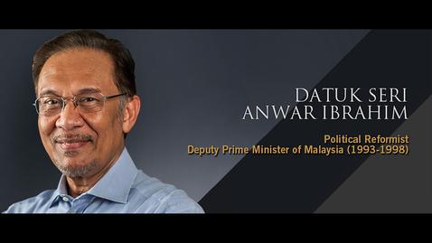 Thumbnail for entry Q&A: Datuk Seri Anwar Ibrahim (20 Sept 2018)