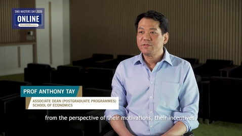 Thumbnail for entry Economics - Information Session - Prof Anthony Tay