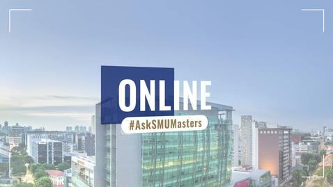 SMU Masters Day Introduction - Prof Themin Suwardy