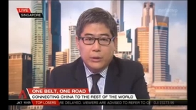 Thumbnail for entry China Party Congress - Interview with Associate Professor of Law Henry Gao, Channel NewsAsia (NewsNow, 11am), 24 Oct 2017