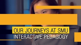 Thumbnail for entry Our Journeys at SMU Interactive Pedagogy