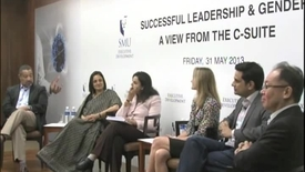 Thumbnail for entry CEO Panel Discussion 2013 : Women Who Lack Confidence