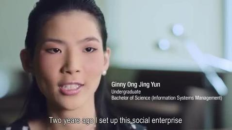 Thumbnail for entry Discover how Ginny's SMU experience encouraged her to start up a social enterprise for the deaf