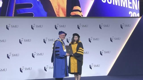 Thumbnail for entry SMU Commencement 2017 - Schools of Accountancy, Economics and Information Systems Postgraduate Ceremony