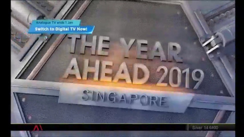 Thumbnail for entry The year ahead 2019: Singapore, Channel NewsAsia, 9.30pm, 24 Dec 2018