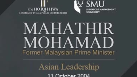 Thumbnail for entry Asian Leadership
