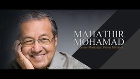 Thumbnail for entry Speaker: Mahathir Mohamad (11 Oct 2004)