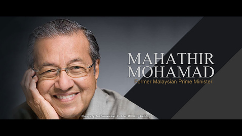 Thumbnail for entry Speaker: Mahathir Mohamad (11 Oct 2004)