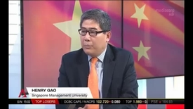 Thumbnail for entry China Party Congress - Interview with Associate Professor of Law Henry Gao, Channel NewsAsia (NewsNow, 3pm), 18 Oct 2017