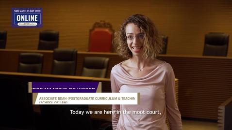 Thumbnail for entry Law - Information Session - Prof Maartje De Visser