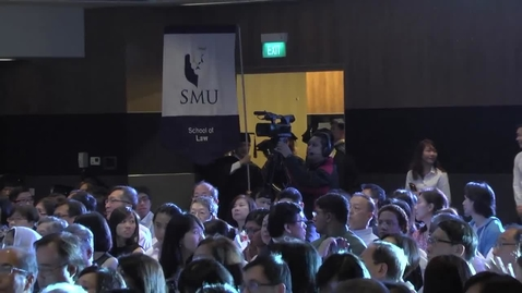 Thumbnail for entry SMU Commencement 2015 - School of Law Ceremony