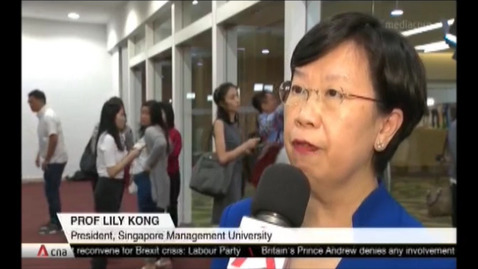Thumbnail for entry Universities, polytechnics support making higher education more affordable, CNA (Singapore Tonight, 10pm), Aug 19