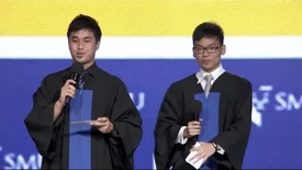 Thumbnail for entry SMU Commencement 2015 - School of Information Systems Ceremony
