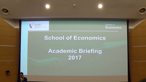 Thumbnail for entry SOE Academic Briefing 2017