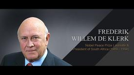 Thumbnail for entry Q&A: Frederik Willem de Klerk (25 Mar 2013)