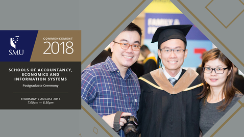 Thumbnail for entry Schools of Accountancy, Economics and Information Systems Postgraduate Ceremonies