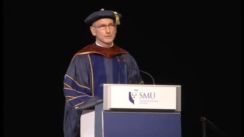 Thumbnail for entry SMU Commencement 2014 School of Economics Commencement Ceremony