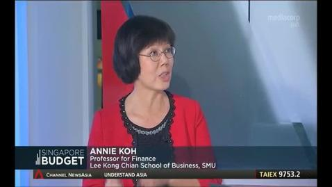 Thumbnail for entry Budget 2017- Interview with Prof Annie Koh